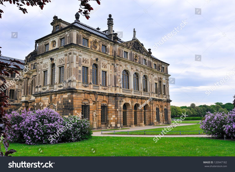 Japanisches Palais Grosser Garten Dresden Germany Stock Photo Edit