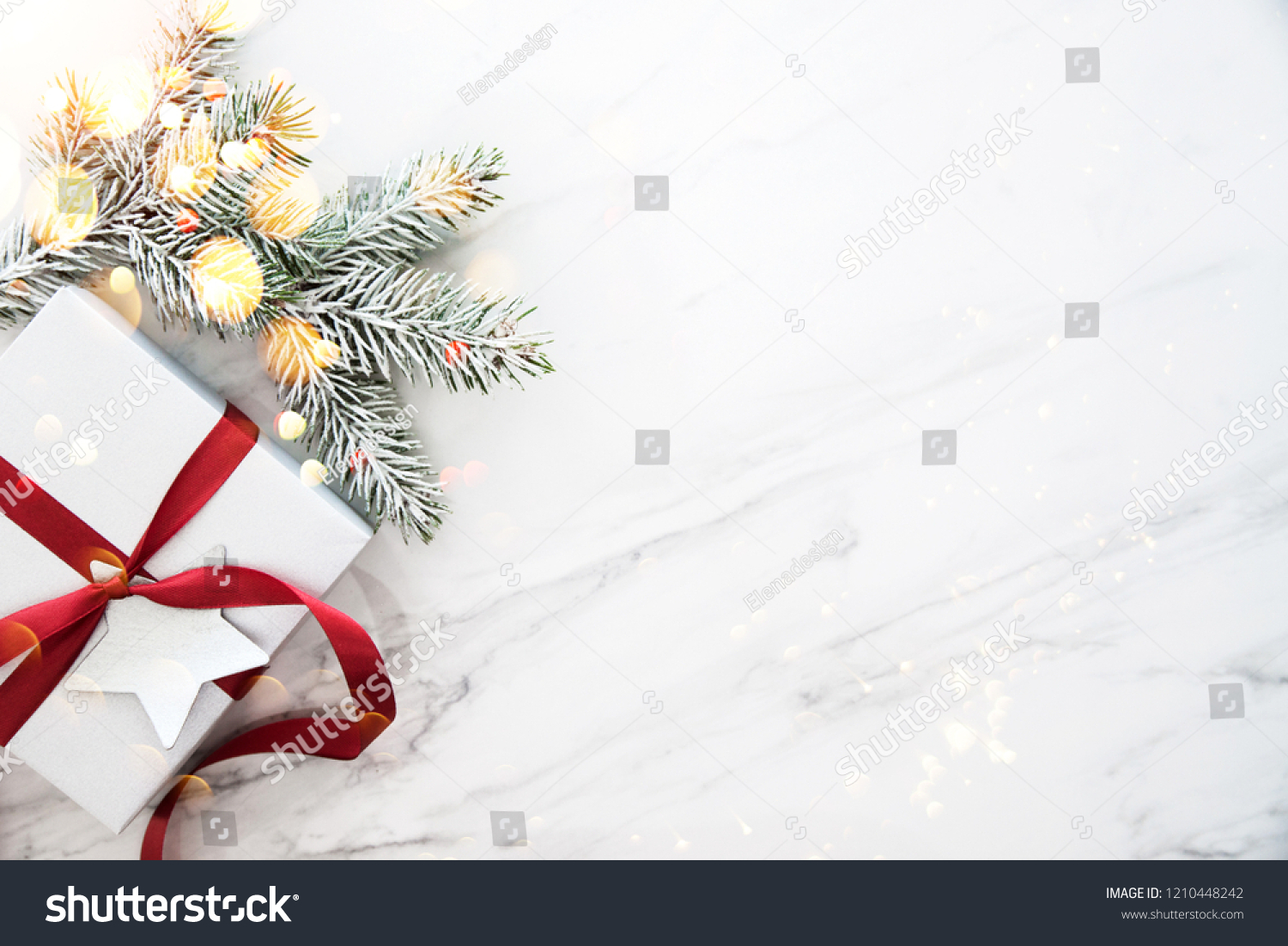 Merry Christmas Happy Holidays Greeting Card Stock Photo (Edit Now ...