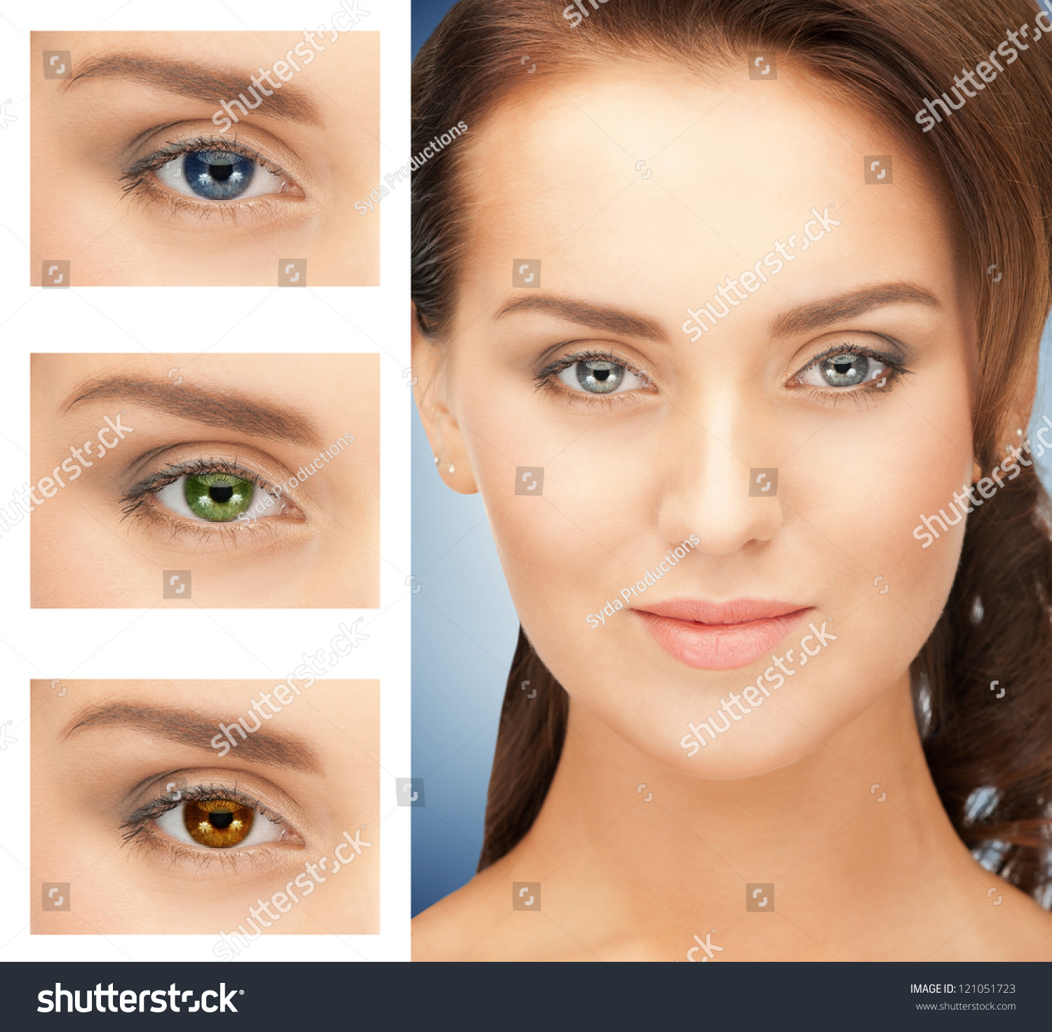 Multi Colored Eye Contacts