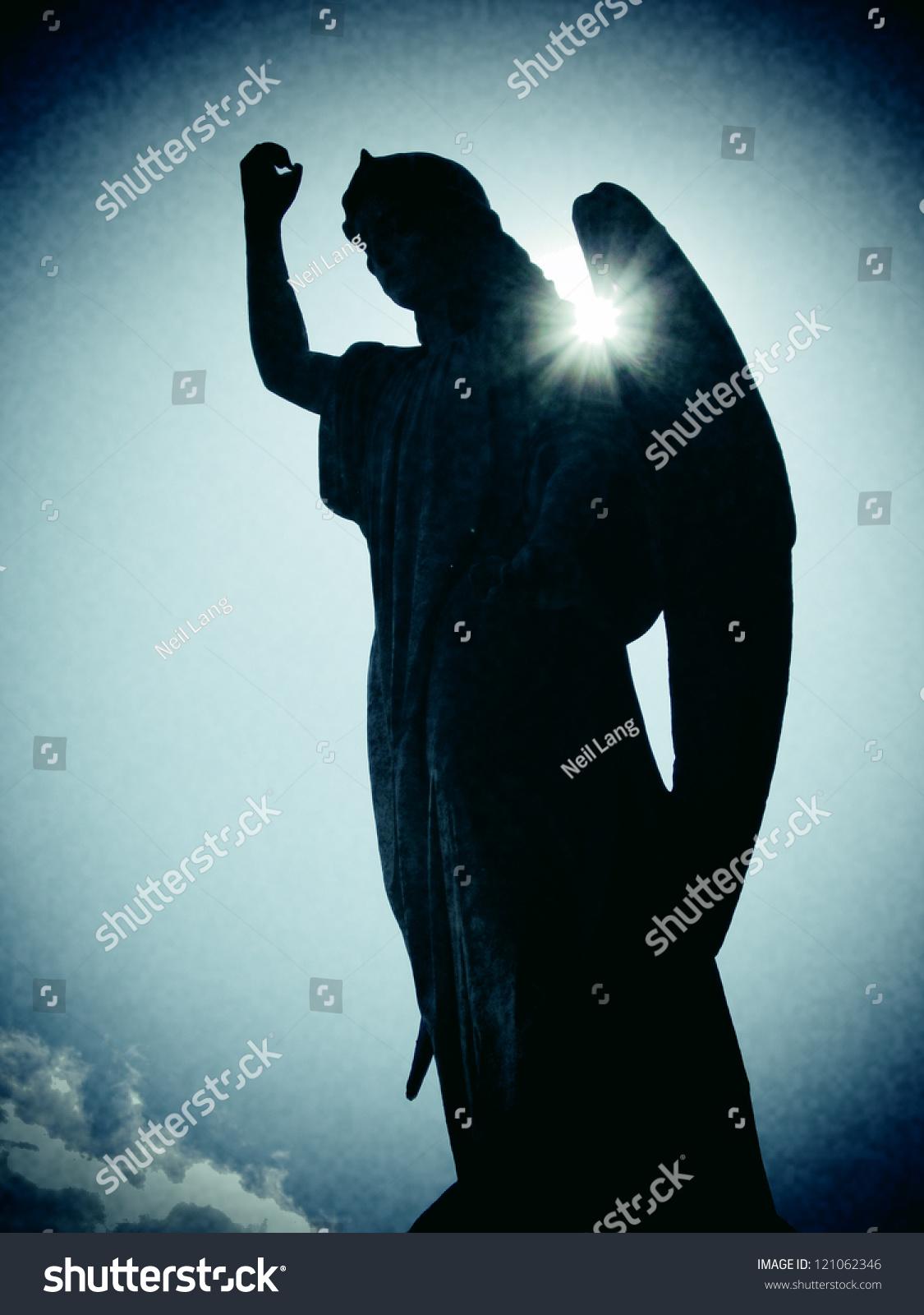Angelfist angel fist raised stock photo (edit now) 121062346