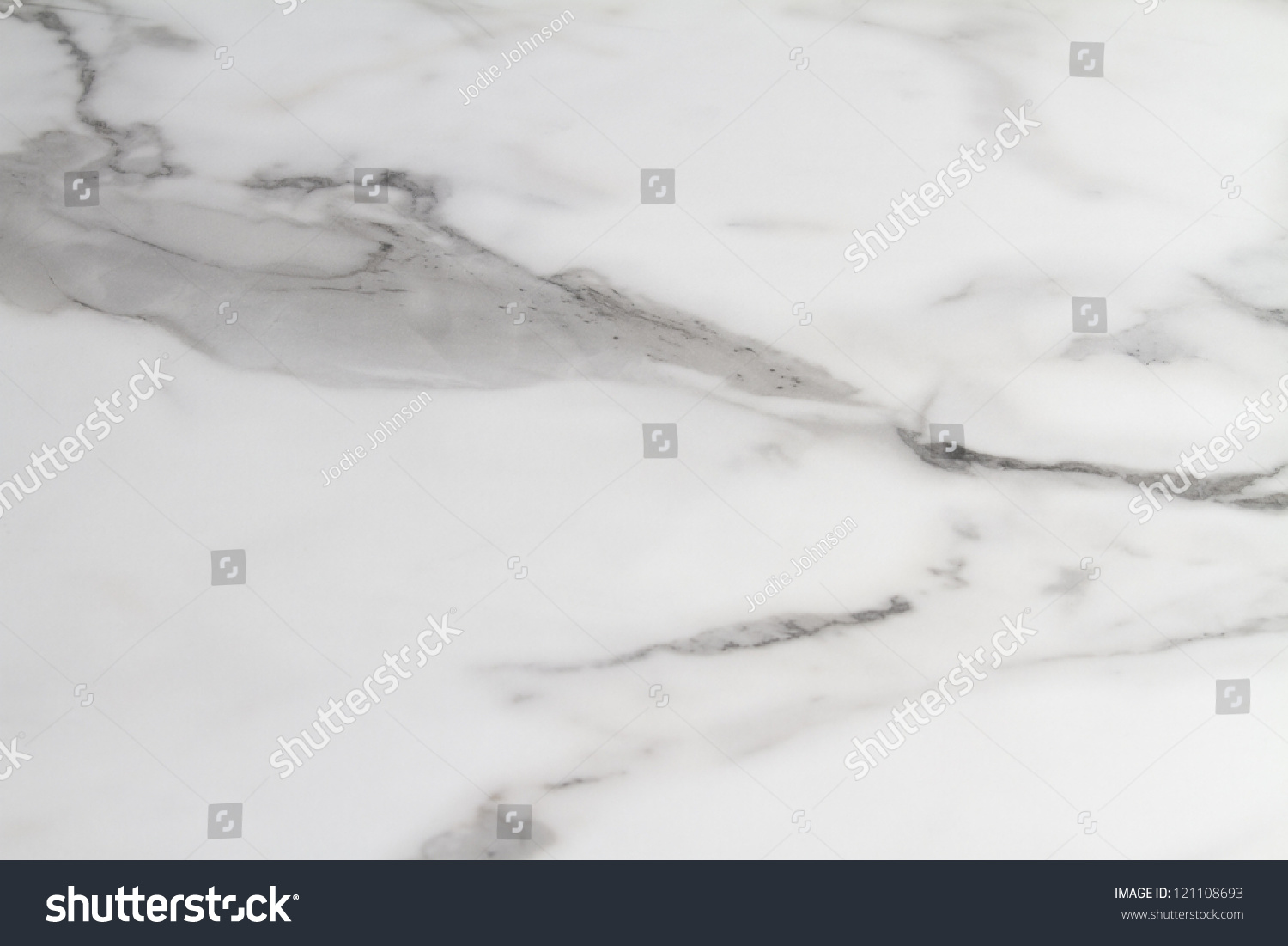 Carrera Carrara Marble Bench Top Close Stock Photo