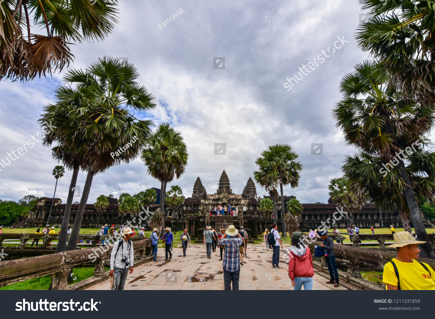 siem reap cambodia october 202018 tourist stock photo (edit now