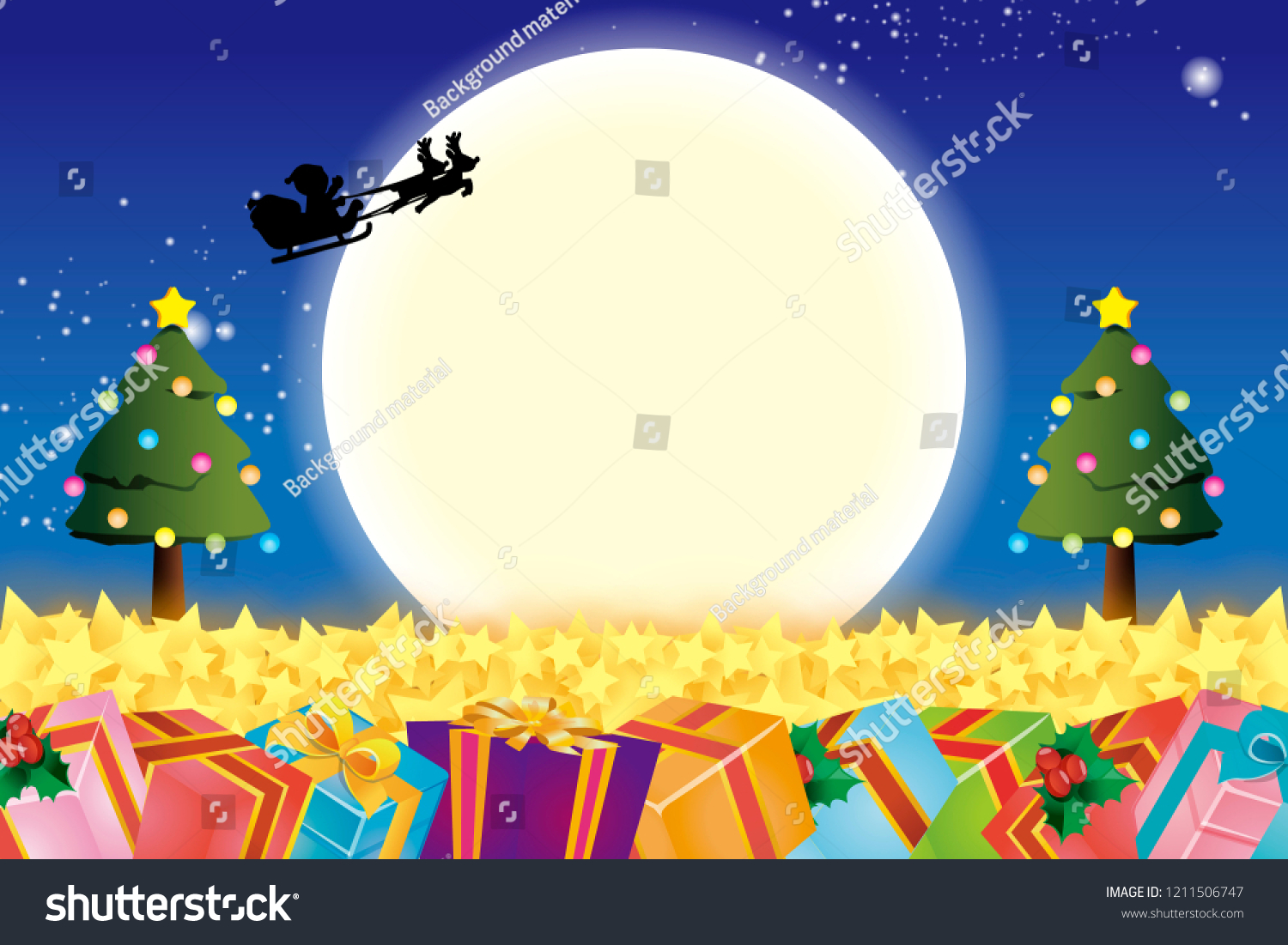Christmas Gift Sale Winter Event Christian Stock Vector (Royalty ...