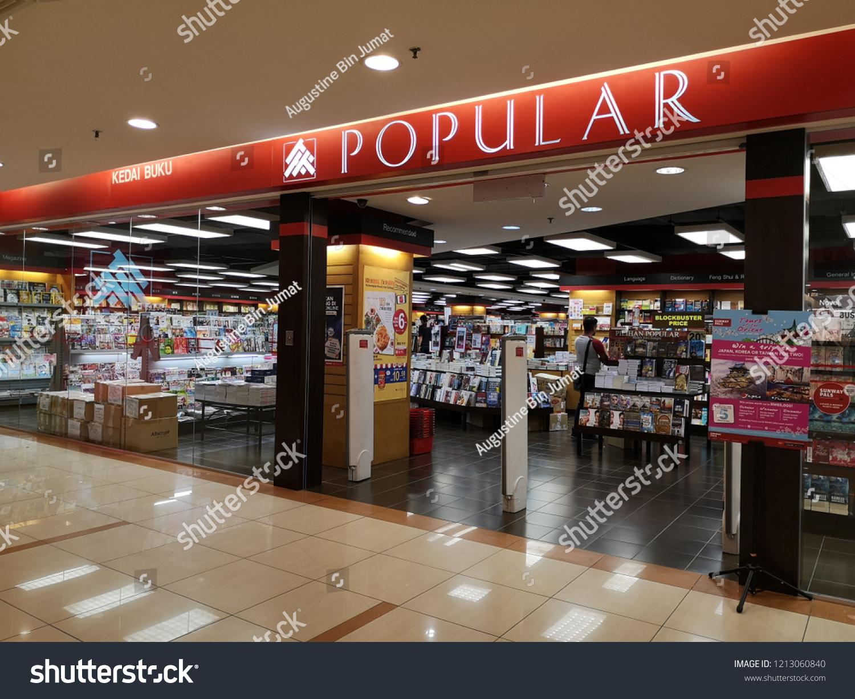 Penangmalaysia Oct 262018 Popular Book Store Sunway Stock Photo