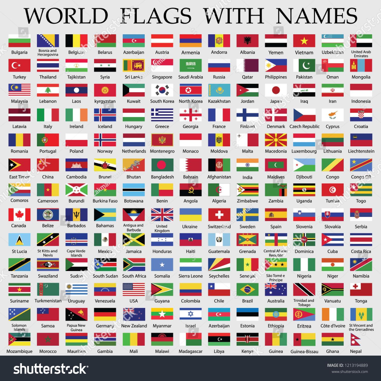 Alla världens flaggor