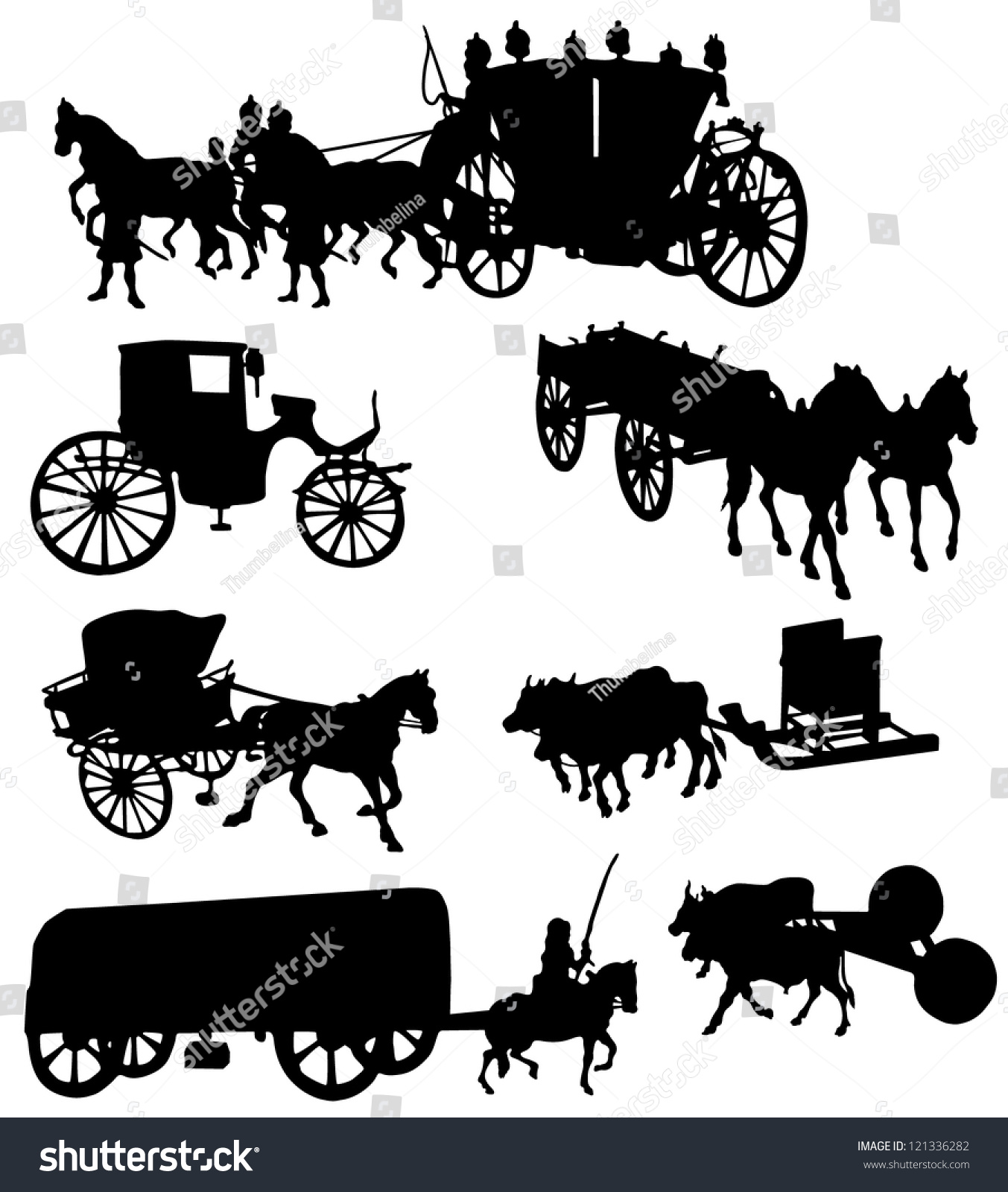 259 best vehicle line drawings images on Pinterest |Metal Horse And Buggy Silhouette
