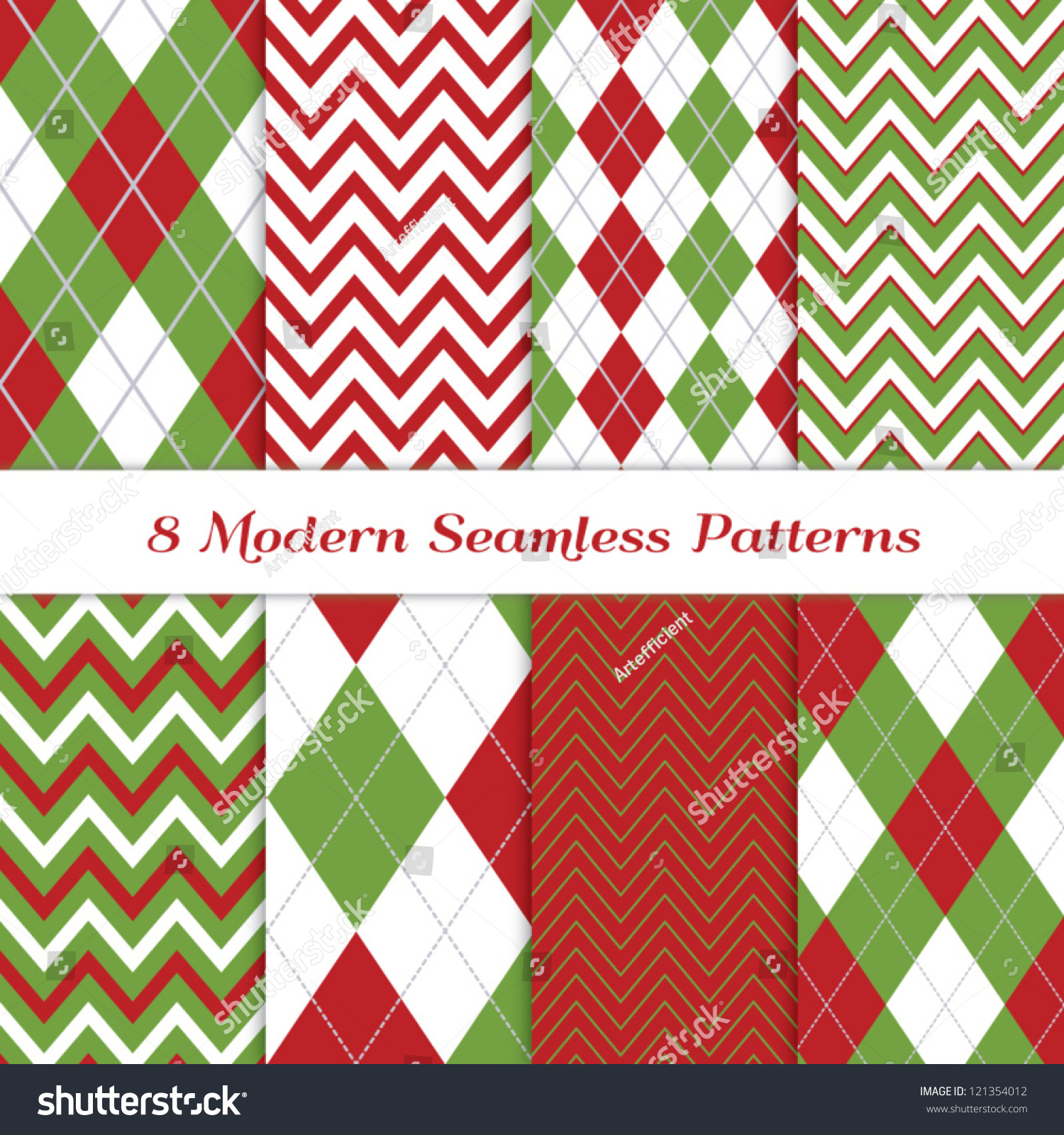 Pics photos merry christmas argyle twitter backgrounds - Classic Christmas Backgrounds 8 Seamless Chevron And Argyle Patterns In Green Dark Red