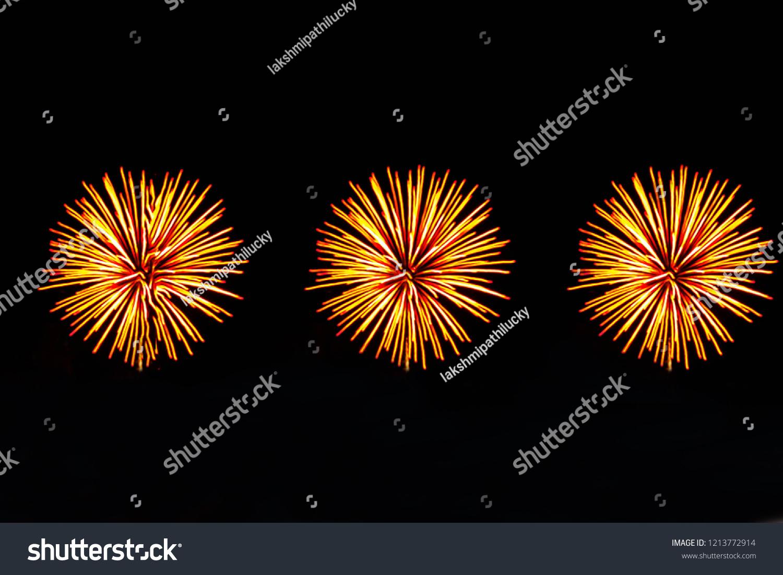 Diwali Crackers Fireworks Celebration New Year Stock Photo Edit Now
