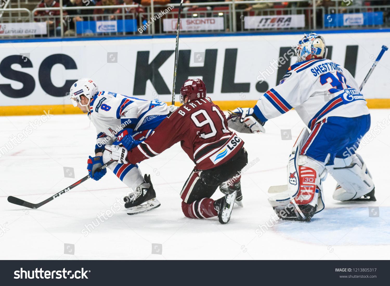 26102018 Riga Latvia Kontinental Hockey League   Sports/Recreation ...