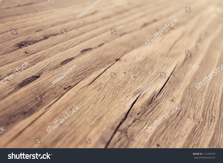 Wood Texture, Wooden Plank Grain Background, Desk In ...