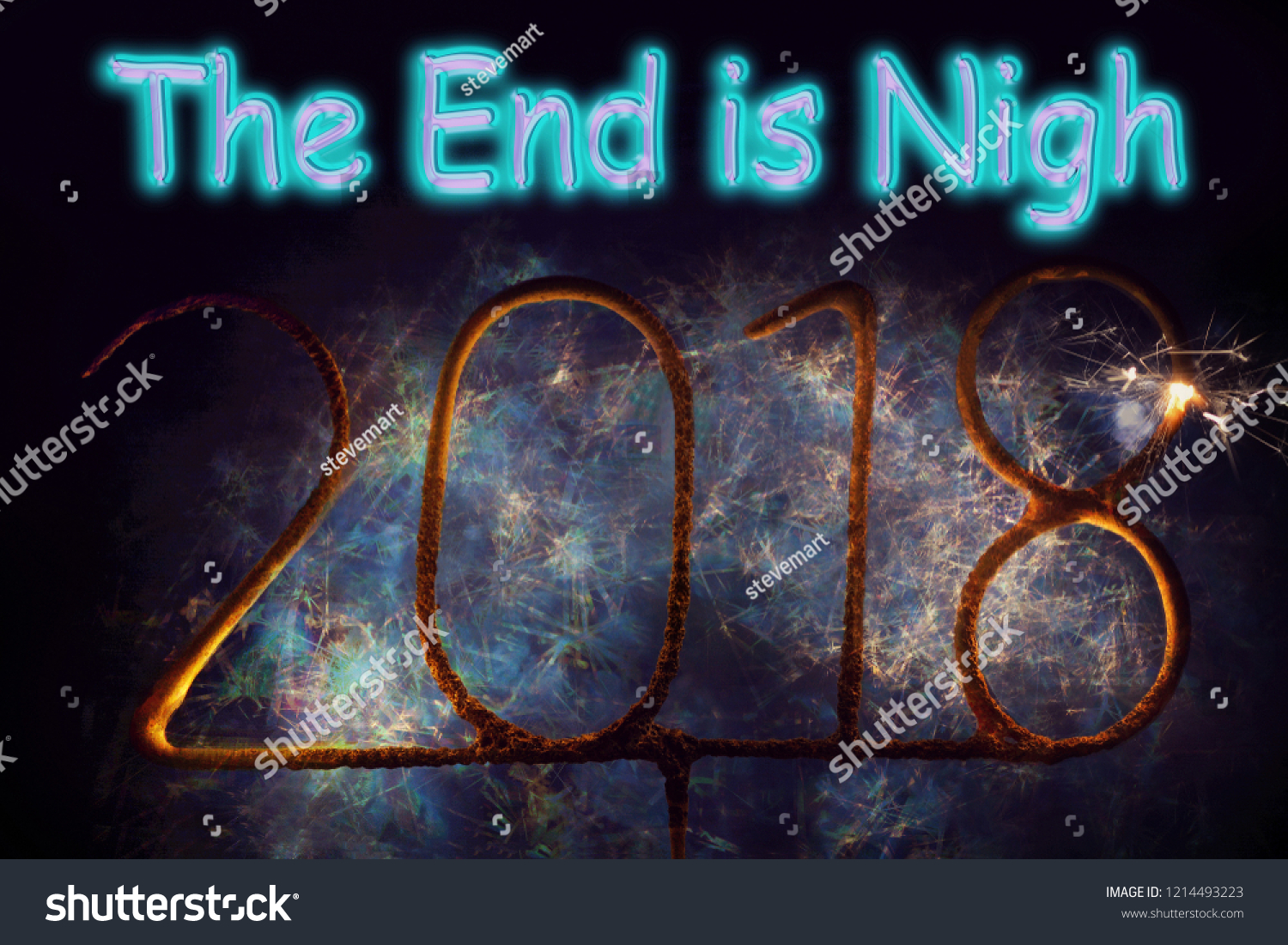 stock-photo-year-end-and-new-year-burned