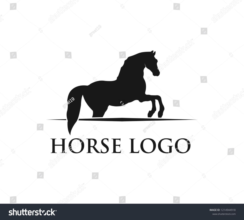 Vector De Stock Libre De Regalias Sobre Simple Horse Sport Vector Logo Design1214944918