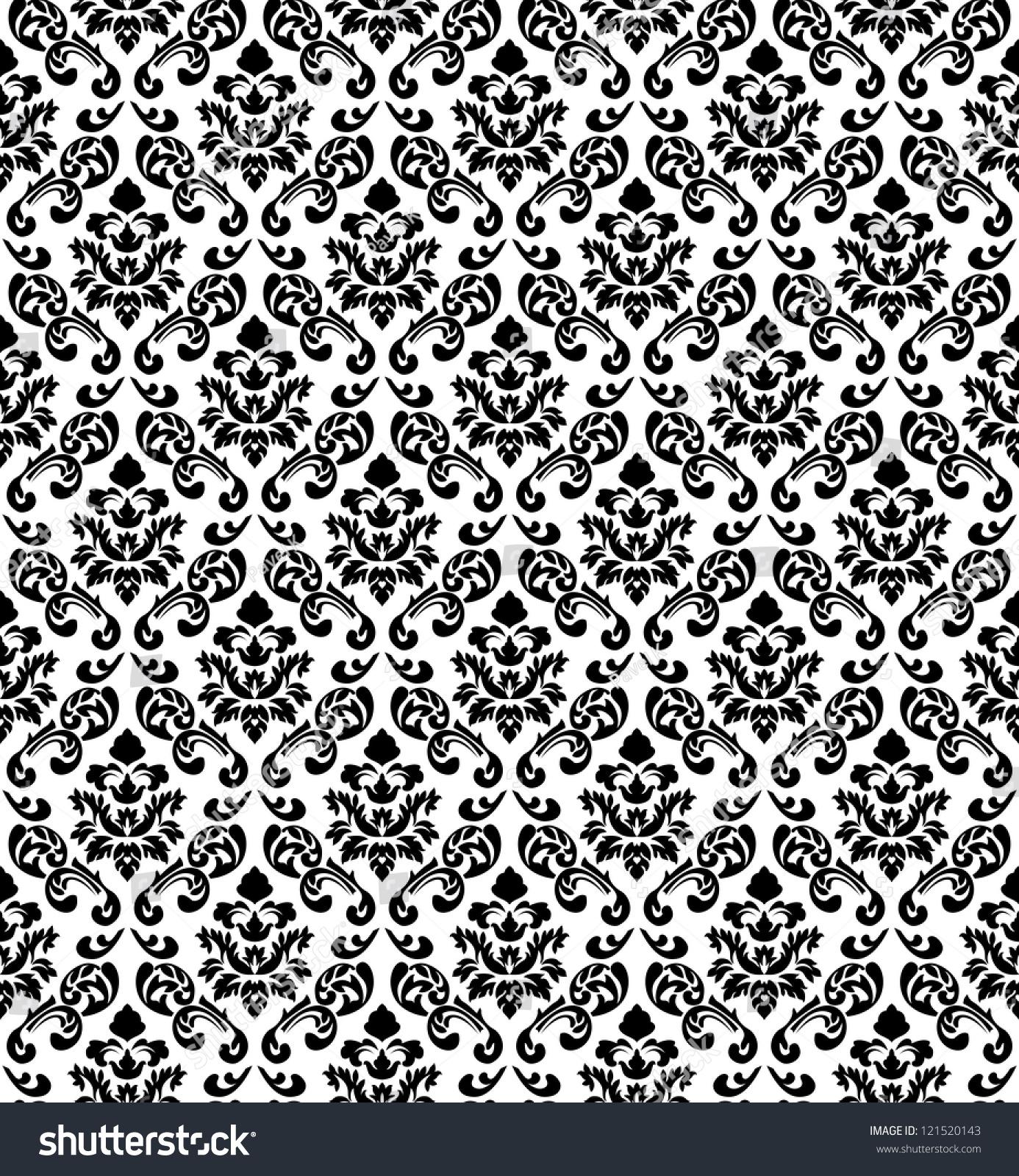 swirling royal pattern wallpaper - photo #9