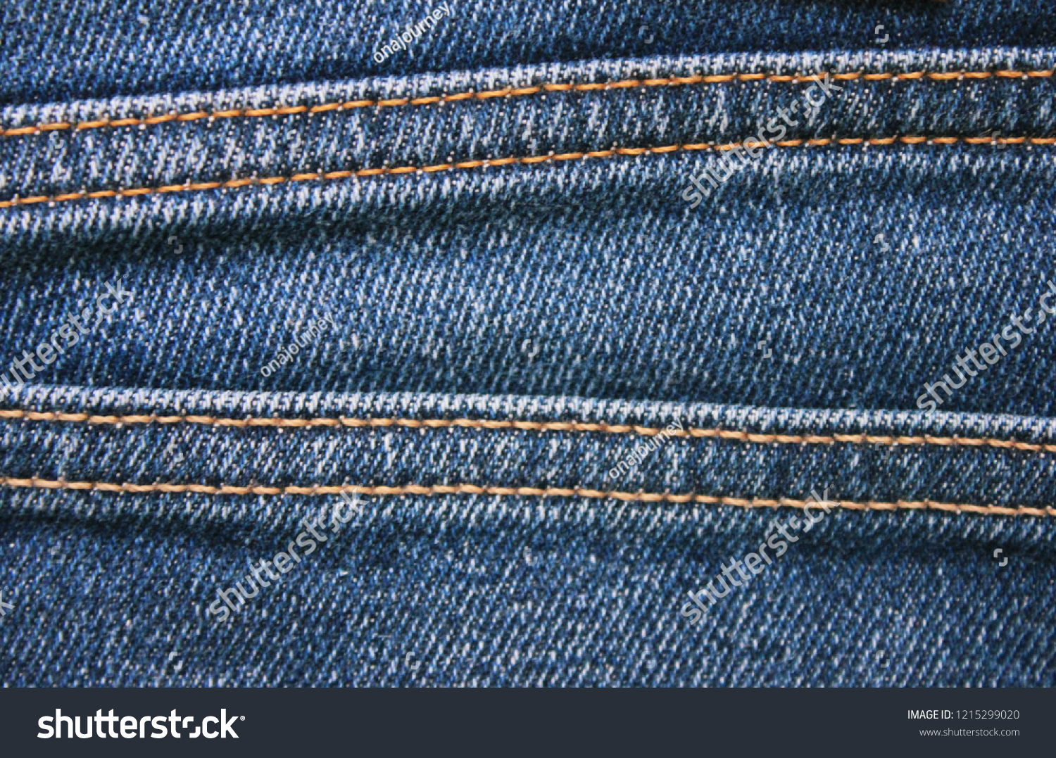 a1669d24774 Blue Jeans Detail with Seam Close Up View. Classic Fashion Denim Blue Jeans  Texture with