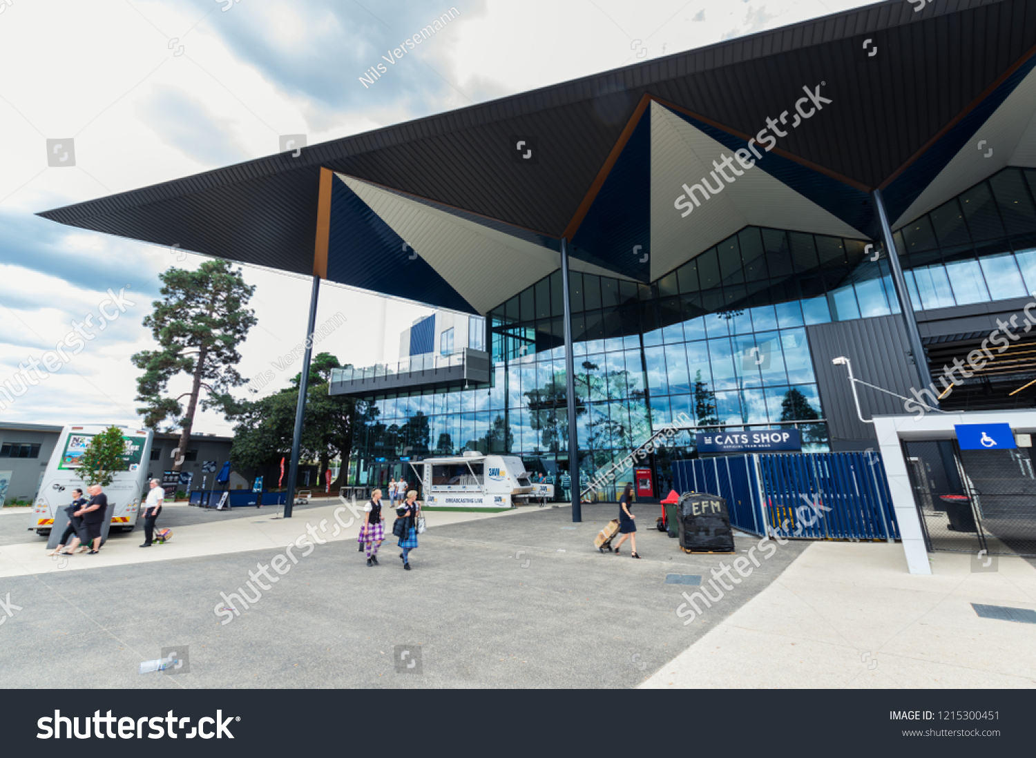 Geelong Australia October 14 2018 Gmhba Buildings Landmarks Stock Image 1215300451