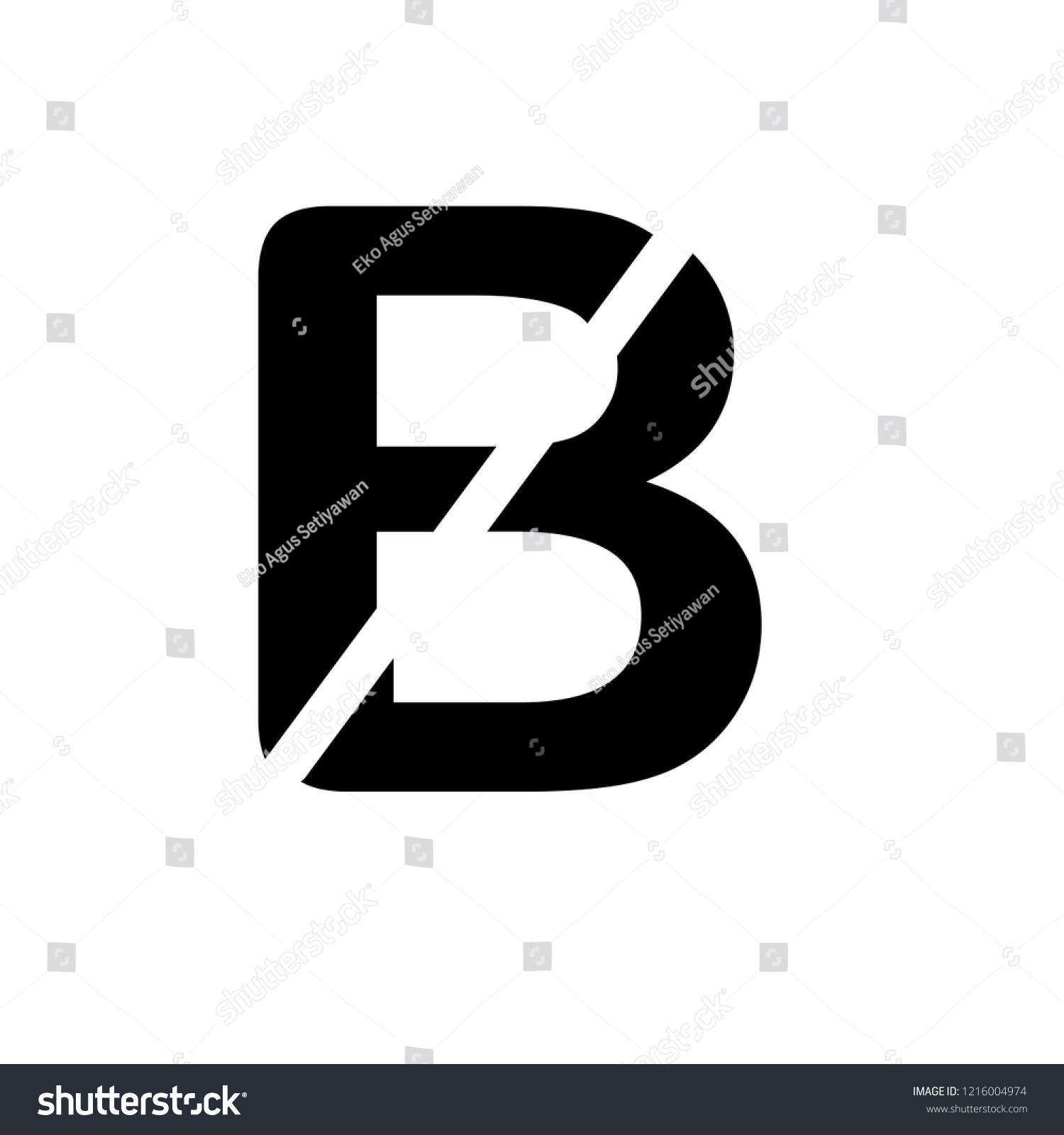font slash logo vector stock vector royalty free 1216004974 shutterstock