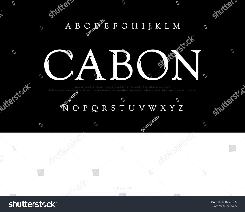 Elegant movie alphabet font. Typography classic style silver font set for logo, Poster, Invitation. vector illustrator