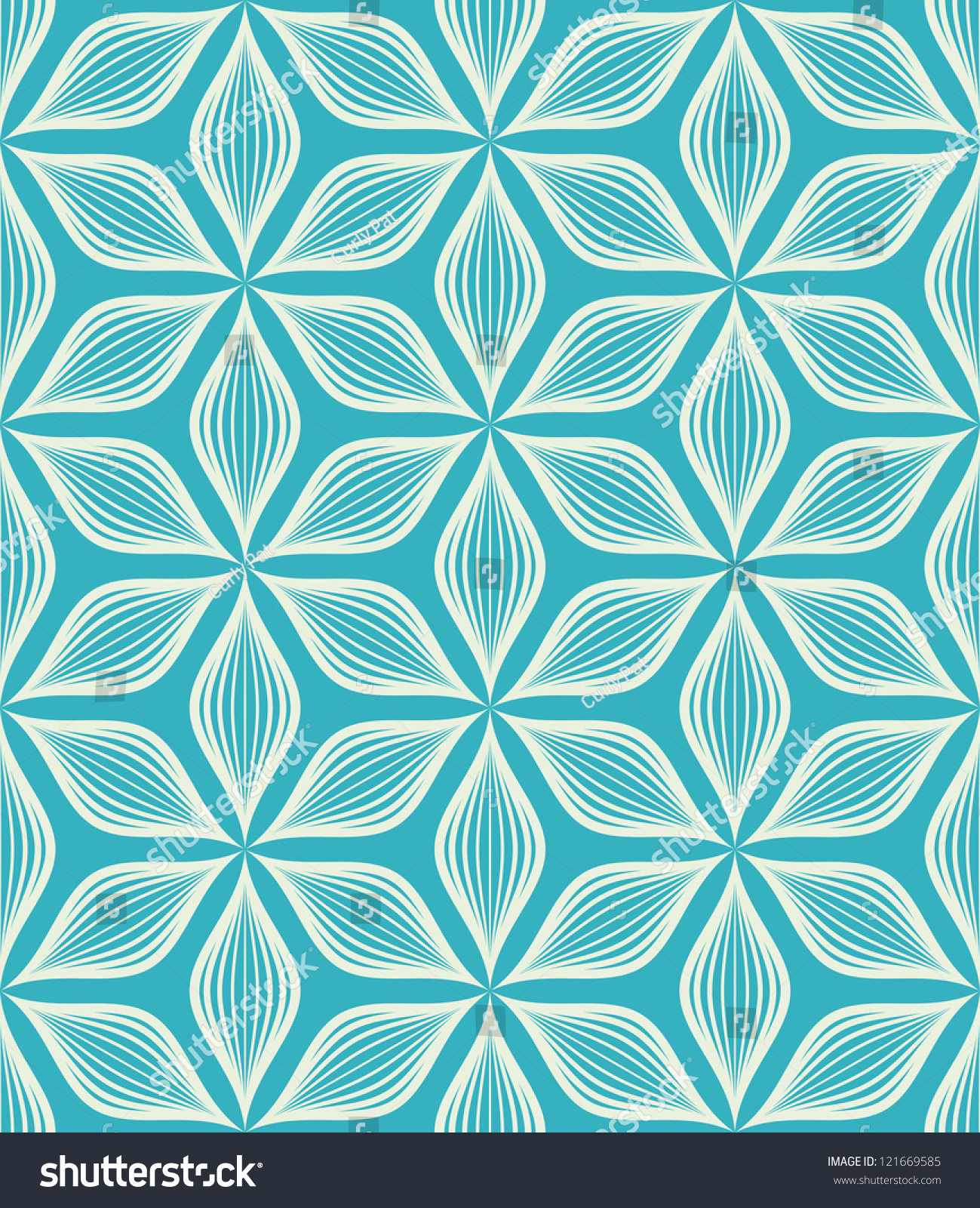 Modern stylish texture  Repeating geometric tiles. Vector Seamless Pattern Modern Stylish Texture Stock Vector