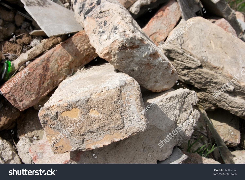 Pile Of Building Debris : Pile debris stock photo shutterstock
