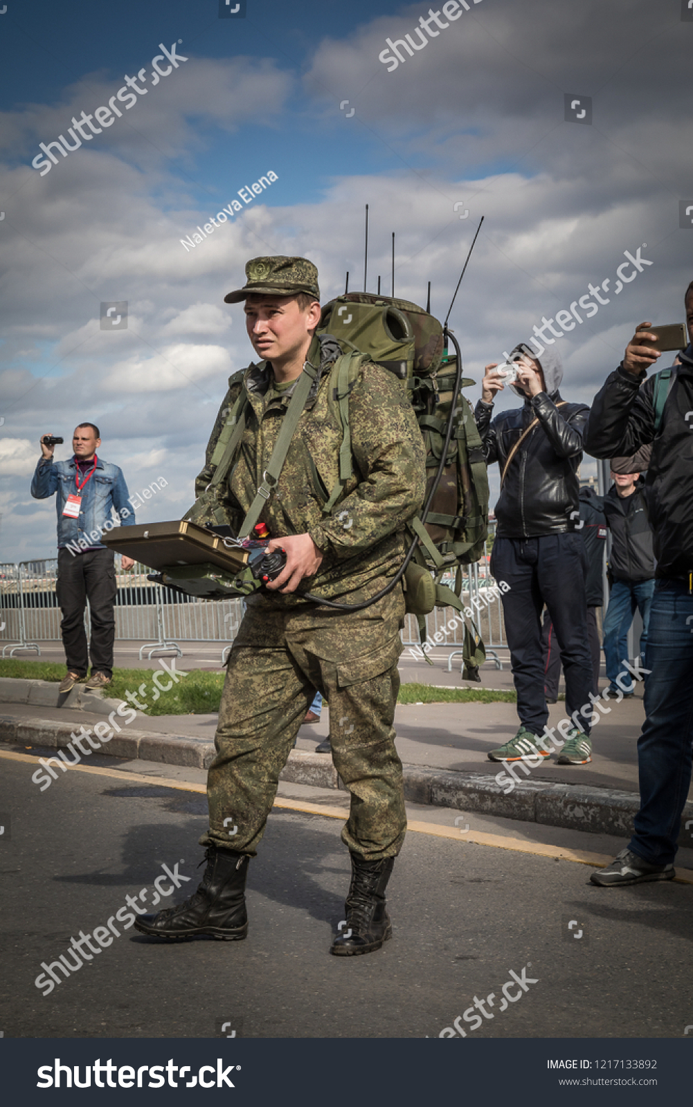 cfa26f4217c 9162017 Russia Moscow Military Forum Army 2017 Stock Photo (Edit Now ...
