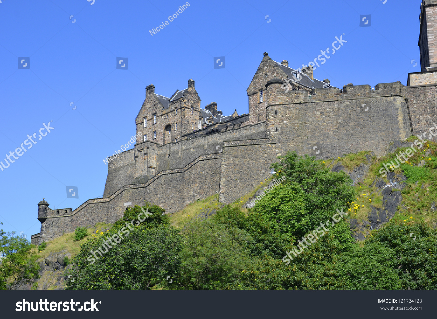stock edinburgh castle - photo #6