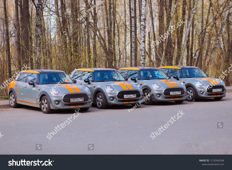 Moscow Apr 29 2018 Four Bmw Stock Photo Edit Now 1218340348