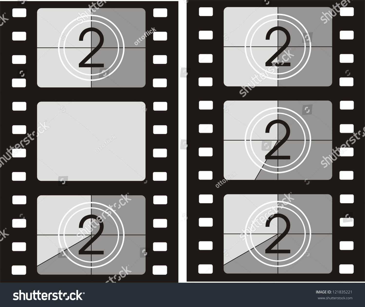 Film reel background movie frames stock vector 121835221 film reel background movie frames jeuxipadfo Image collections