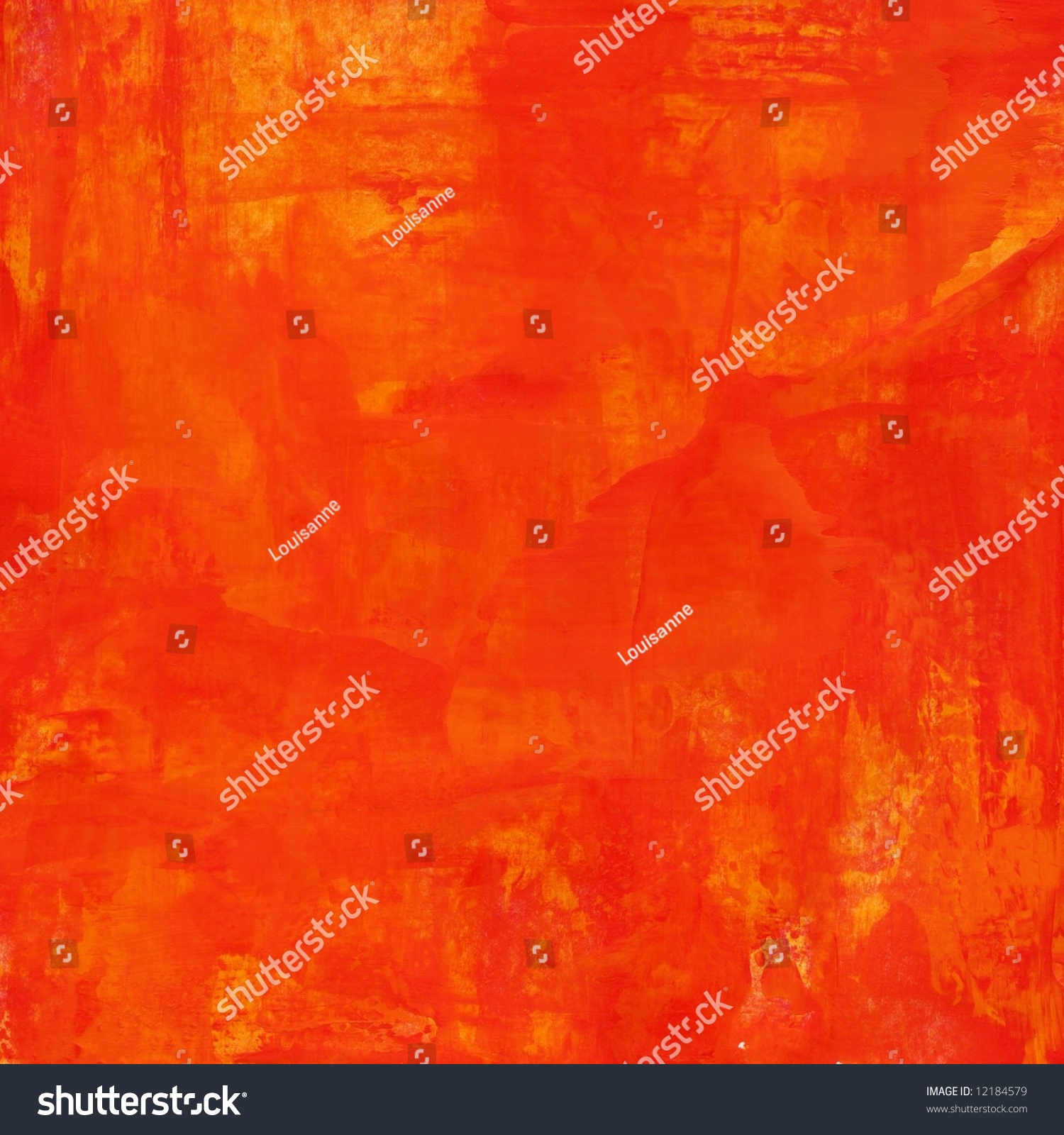 Different Shades Of Orange Abstract Painted Background Texture Different Shades Stock Photo