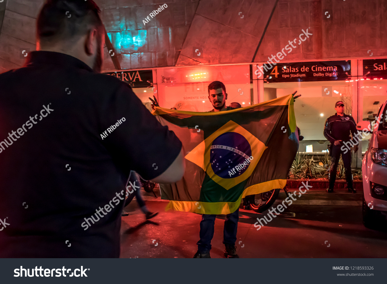 Paulo Brazil October 28 2018 Supporters Stock Photo (Edit Now ... cba5aeb19