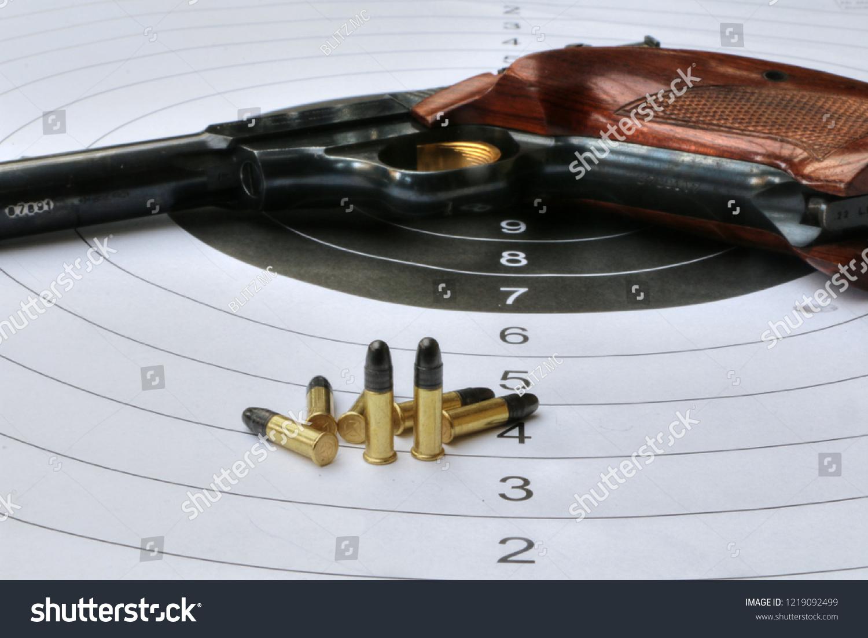 22lr Sport Pistol Stock Photo (Edit Now) 1219092499