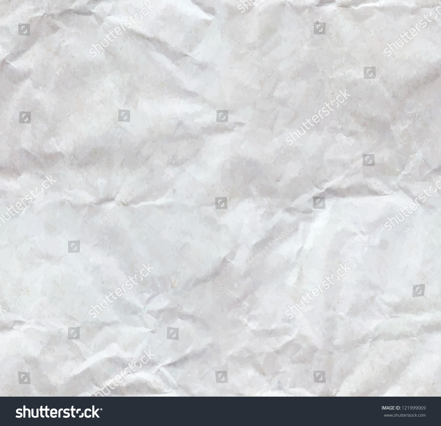 Texture Of Crumpled Paper Sheet Seamless Stock Vector ...