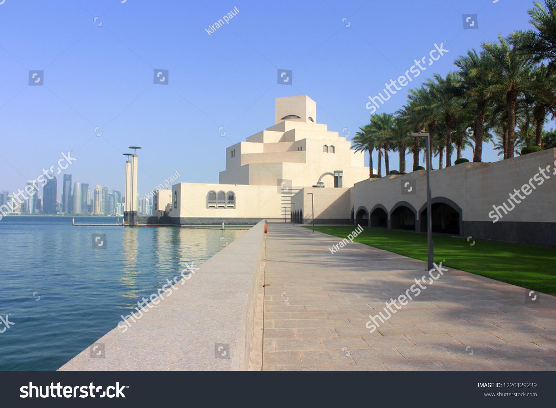 stock-photo-museum-of-islamic-art-in-doh