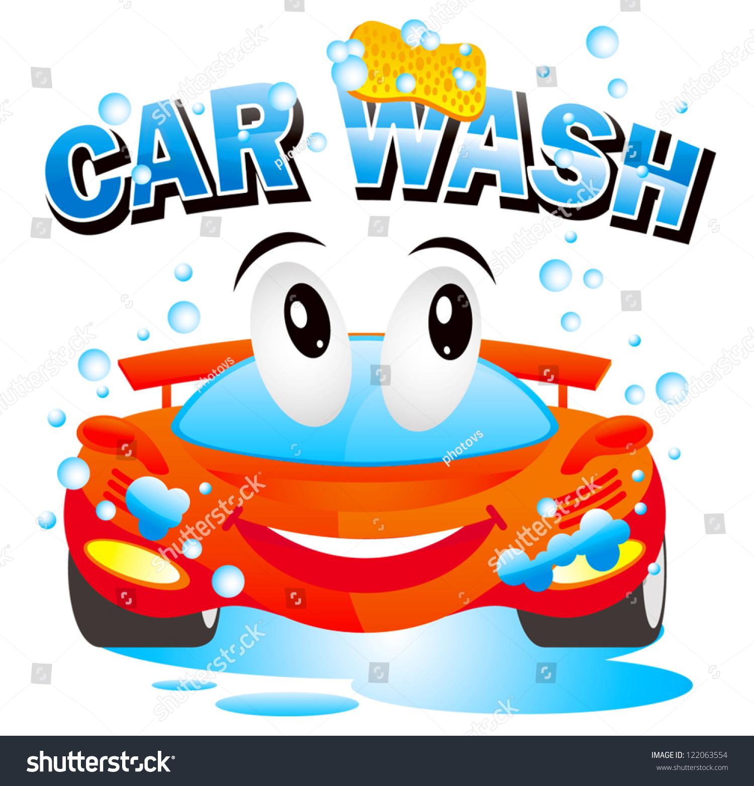 Car Wash Stock Vector 122063554