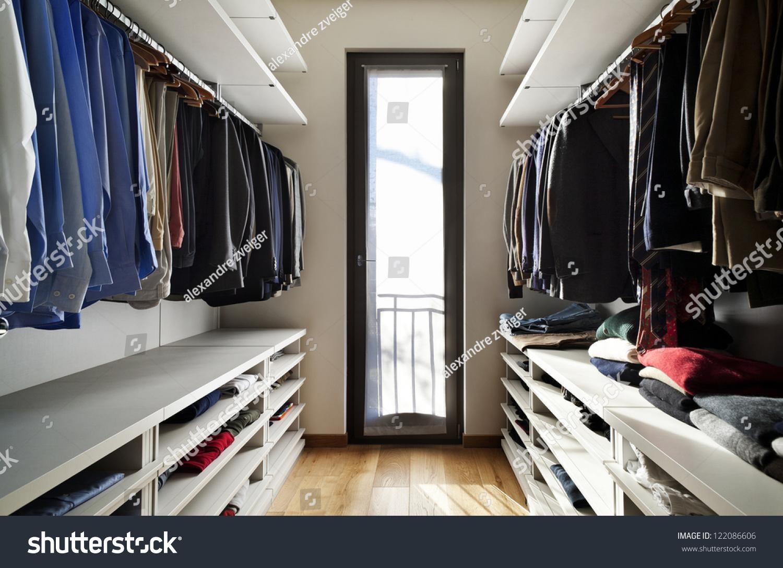 Beautiful apartment interior wardrobe stock photo for Beautiful flats interior