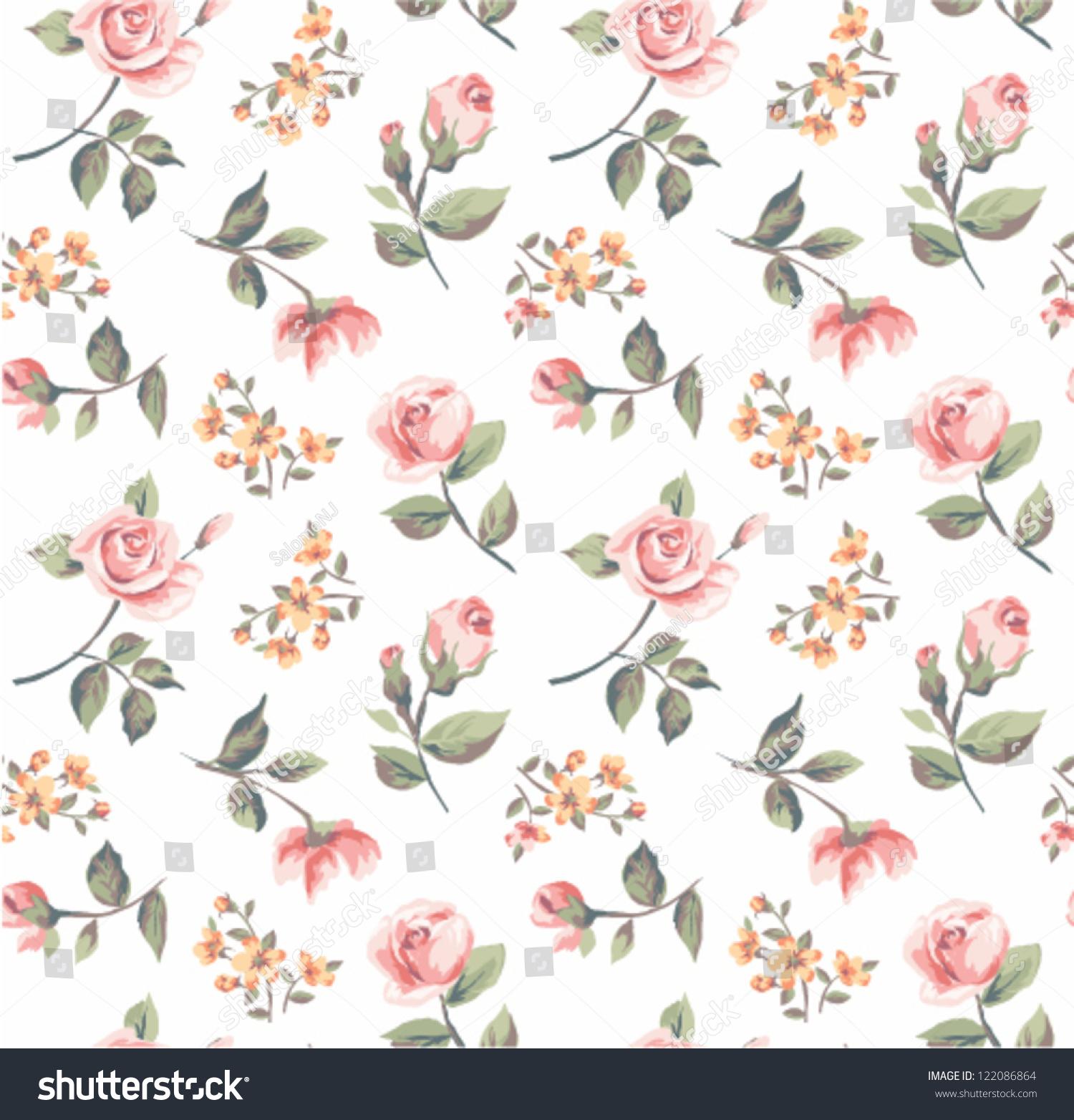 Vintage pastel pattern - photo#30