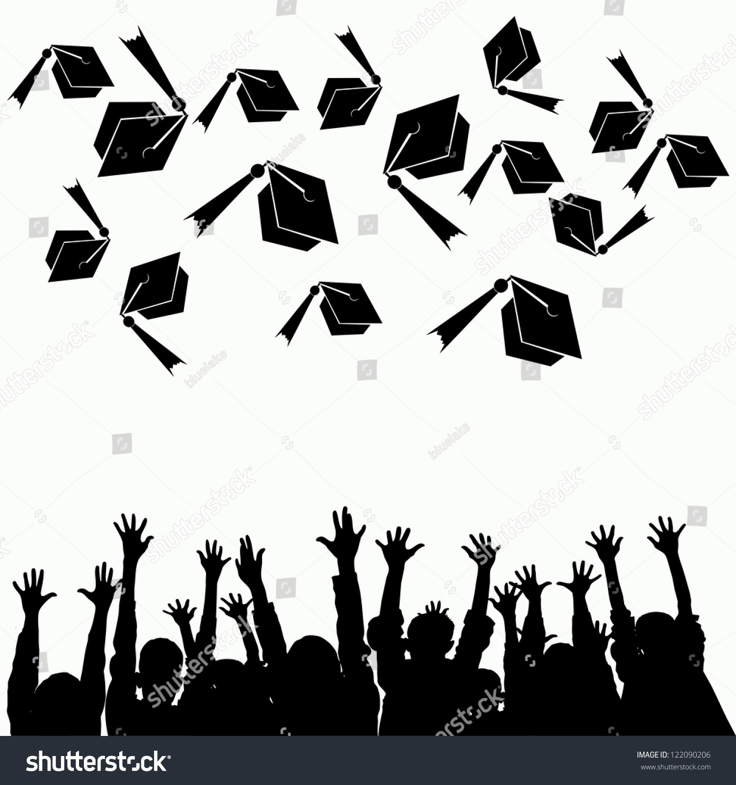 School Hand Drawn Design Graduation