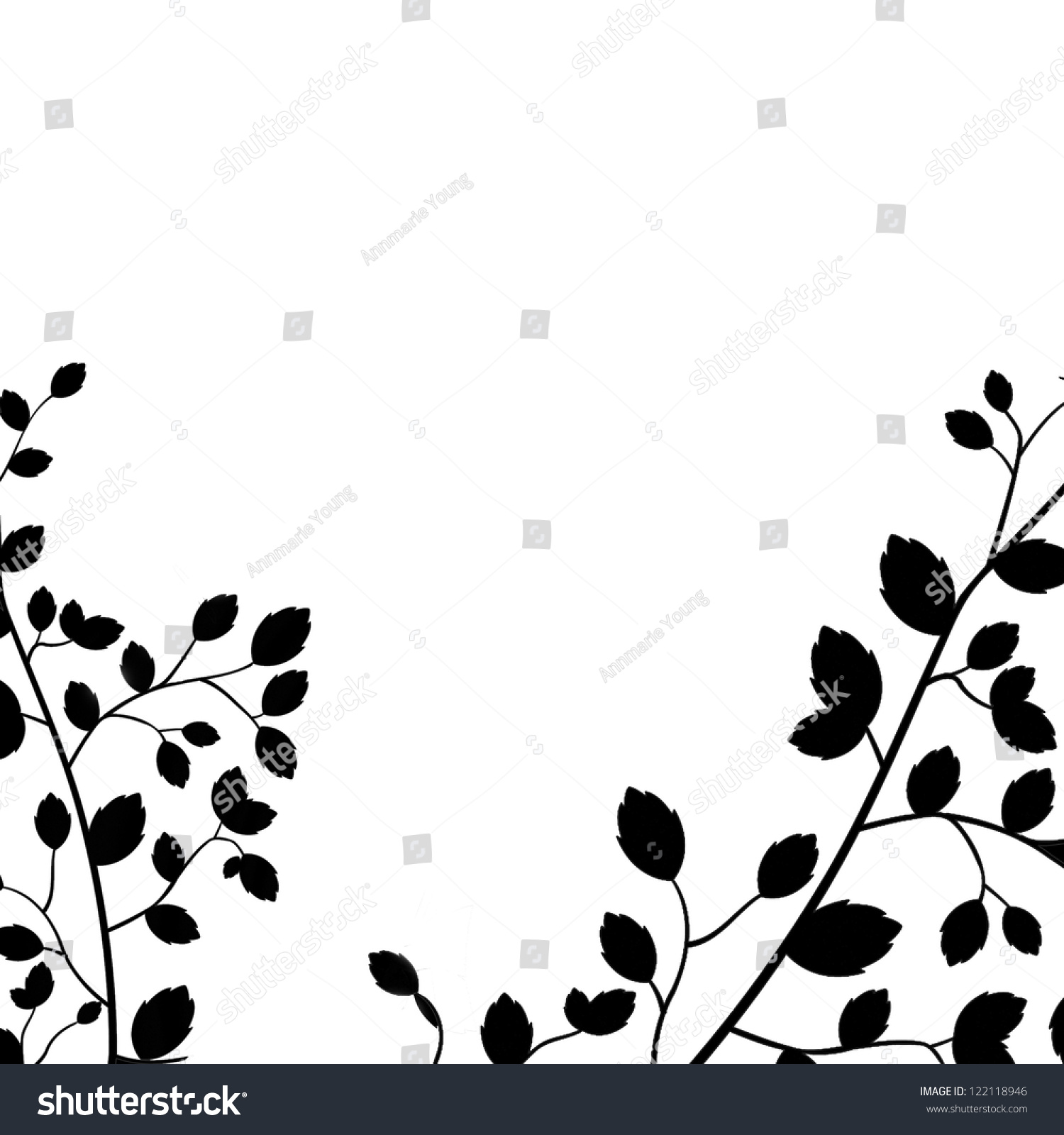 Strong Graphic Art Design Black White Stock Illustration 122118946 ...