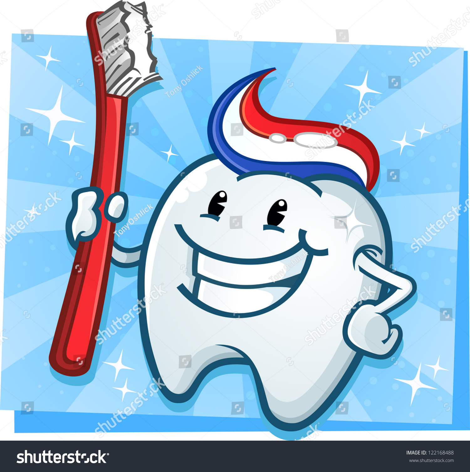 1 Toothed Cartoon Characters : Dental tooth mascot cartoon character toothbrush stock