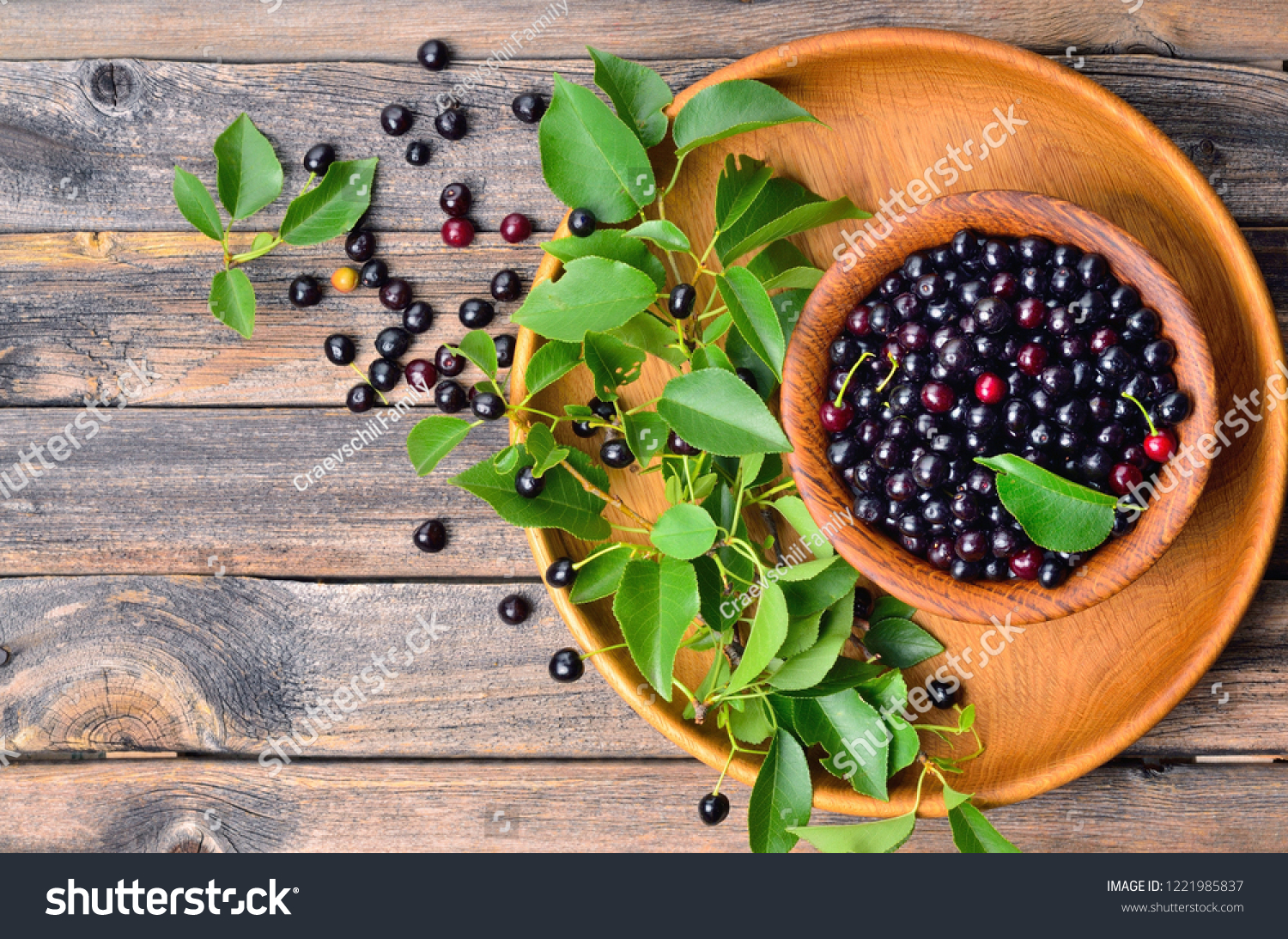 Bowl Fresh Superfood Maqui Berry On Stock Photo Edit Now 1221985837