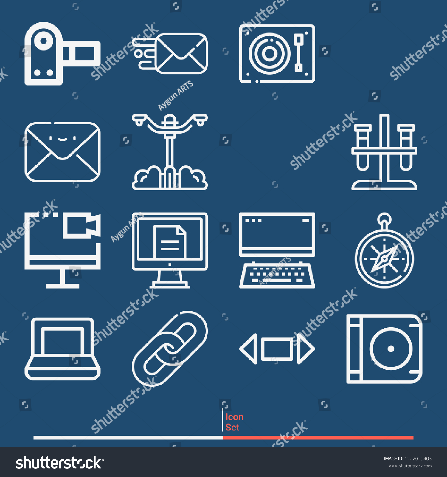 compass panorama lamp post laptop camcorder stock vector (royalty Dell E6410 Laptop Diagram compass, panorama, lamp post, laptop, camcorder, computer, test tube, message, switch, links icon set suitable for info graphics, websites and print media