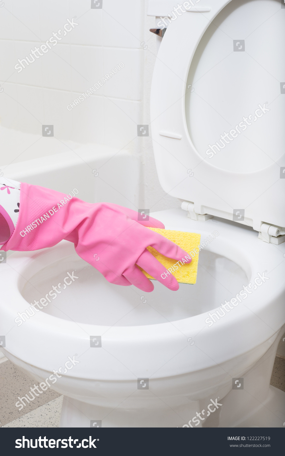 how to get toilet bowl white
