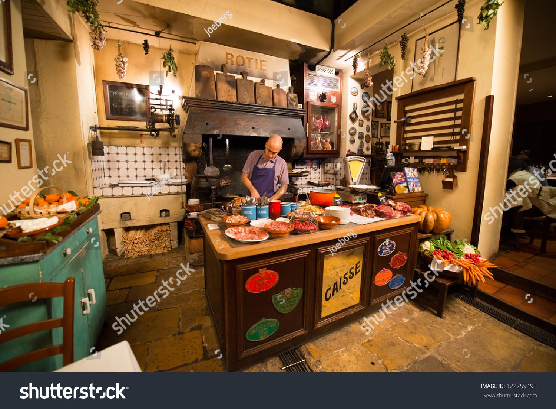 bordeaux december 12 chef cooking la stock photo 122259493. Black Bedroom Furniture Sets. Home Design Ideas