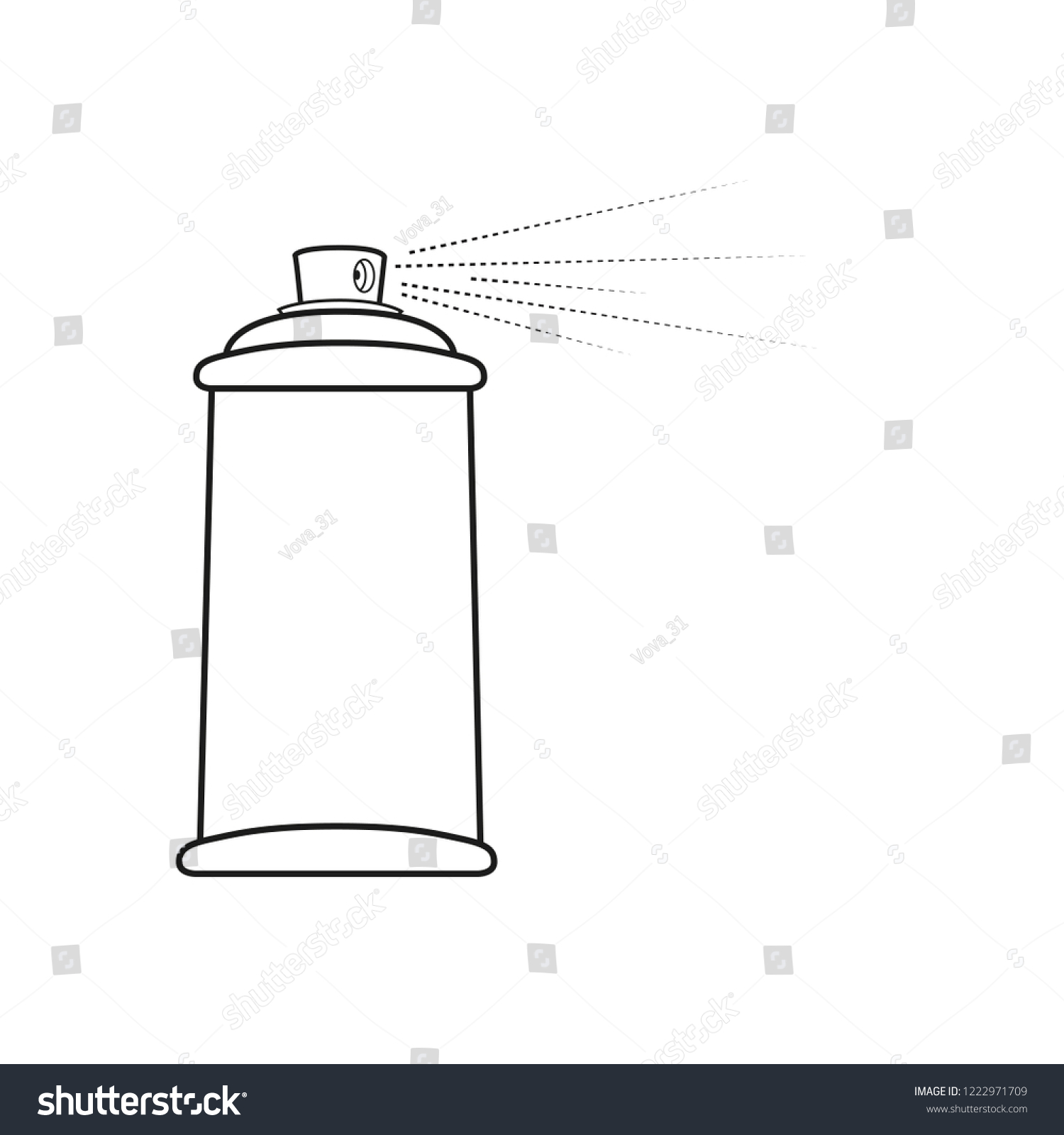 set of white blank spray bottles  mock up, cosmetic package  vector  template template