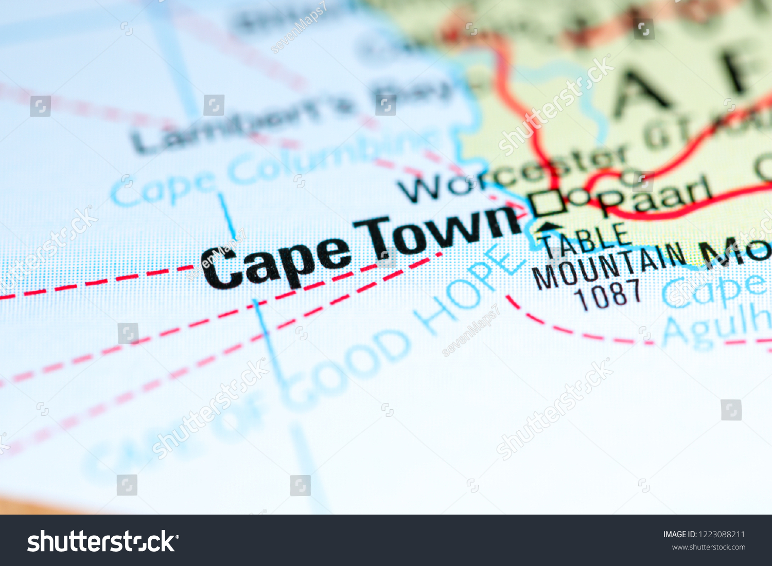 Cape Town South Africa Africa Stock Edit Now