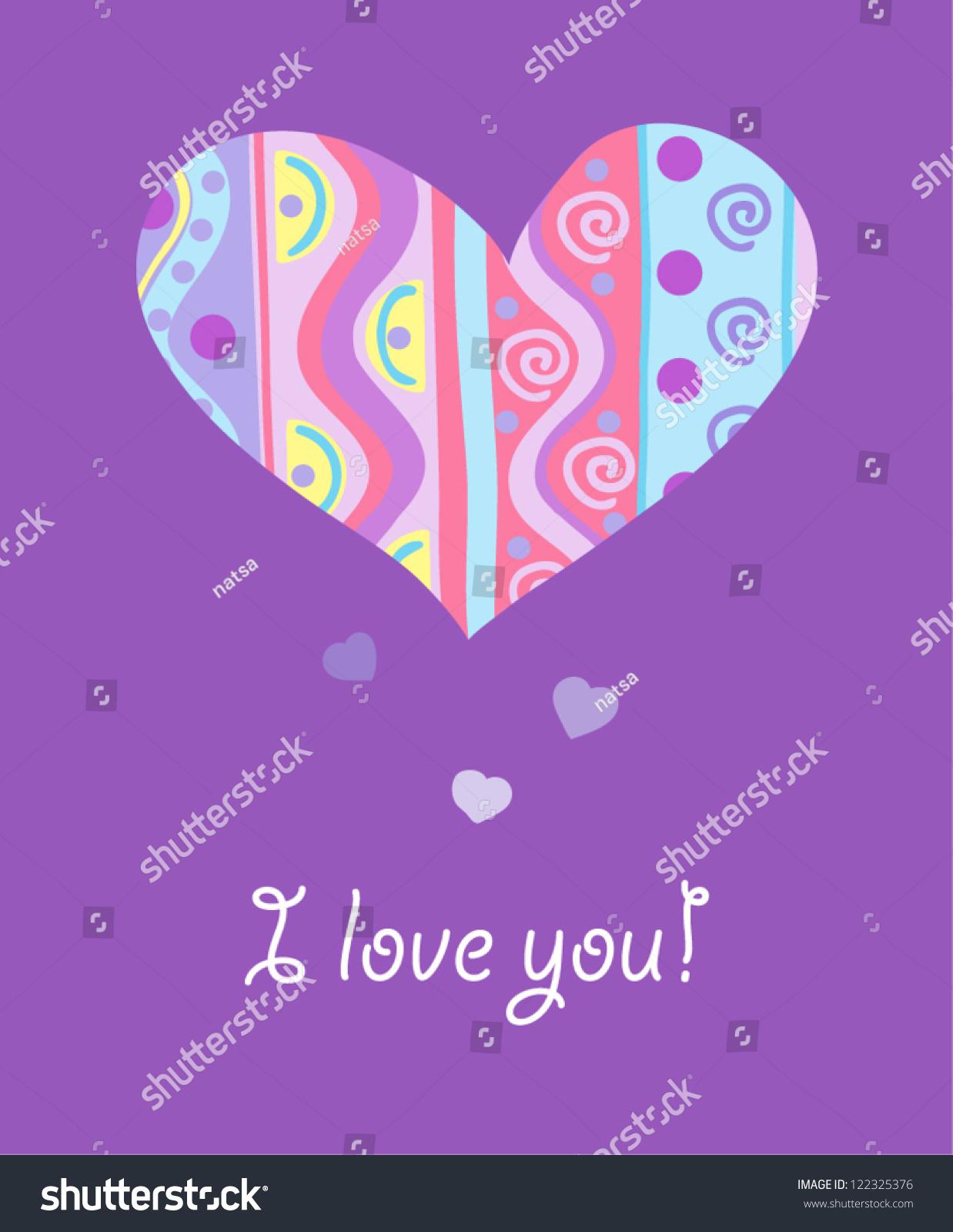 Romantic Wallpaper Cute Heart Background Modern 122325376