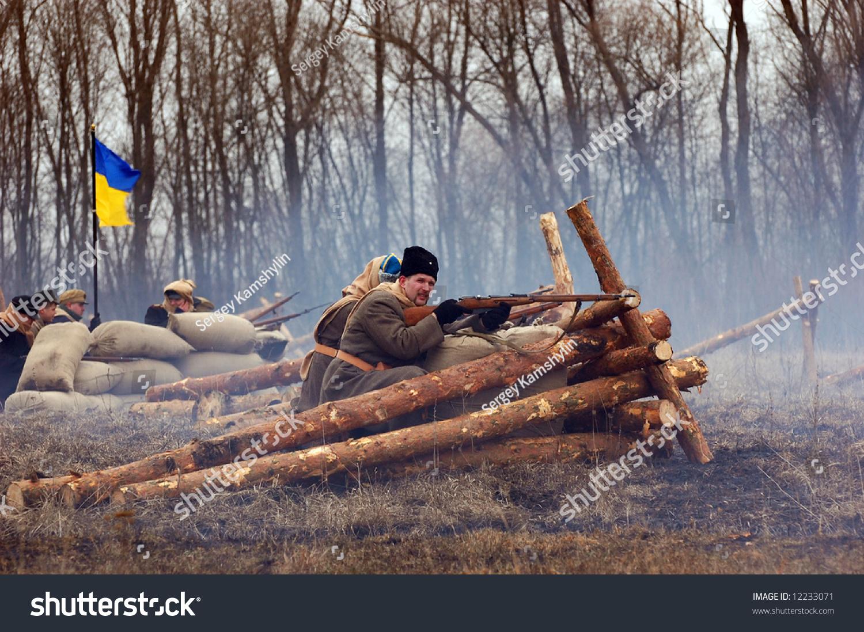 Russian soldier 1918. Civil War reenacting
