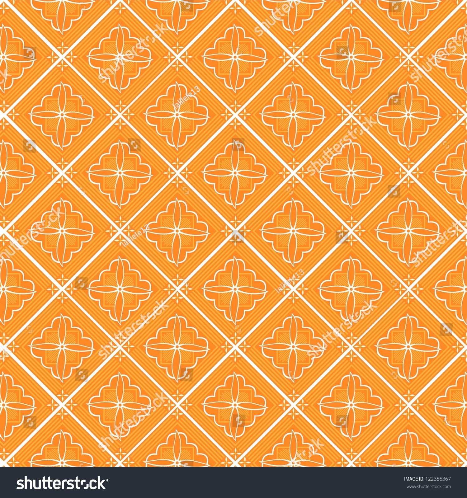 Indonesia Javanese Traditional Pattern Batik 4 Stock