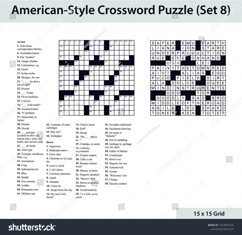 Blank Crossword Puzzle Cablo Commongroundsapex Co