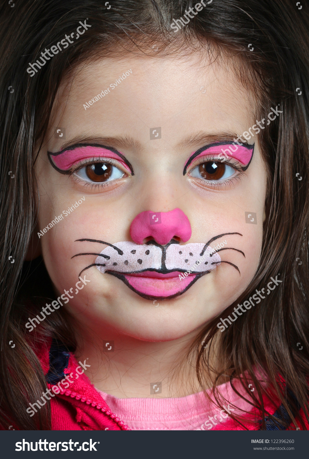 Uncategorized Face Paint Cat pretty girl face painting cat stock photo 122396260 shutterstock with of a cat