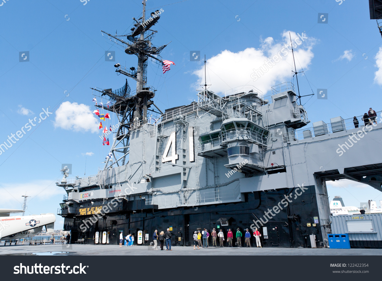 San Diego Usa April  Deck Stock Photo  Shutterstock - Ship museums in us